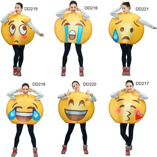Emoji Costume Mascot Costumes For Adults Girls Performance For Cartoon Cosplay