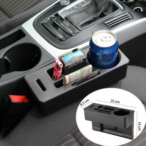 Multi-function Car Seat Crevice Storage Box Organizer Gadget Phone Cup Holder