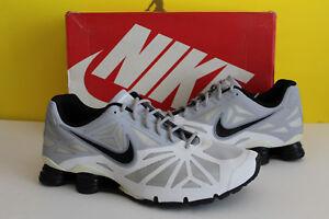 ffde3d0d0fe Nike Shox Turbo 14 - White gray Black- 631760 100 - Mens Size 15