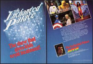 THE ENCHANTED PALACE__Original 1982 Trade print AD / ADVERT__Batman_Adam West_TV