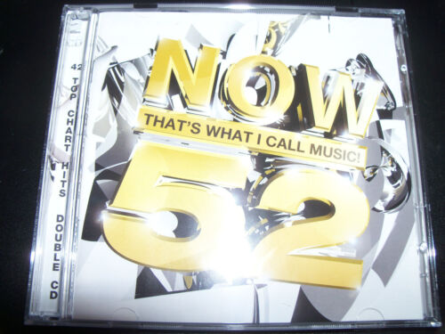 1 of 1 - Now That's What I Call Music 52 Various 2 CD Oasis Kylie Minogue Sugababes Scoot