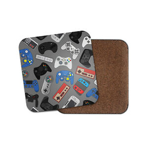 Retro-Game-Controllers-Coaster-Video-Games-Gamer-Geek-Vintage-Cool-Gift-14987