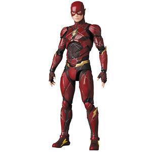 Dc Comics: Ligue de la justice - Flash Mafex 1/12 Figurine Medicom