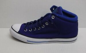 c5d50a137464 Image is loading Converse-Size-11-Indigo-Purple-Mid-Top-Sneakers-