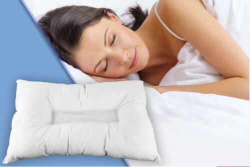 ANTI SNORE PILLOW ORTHOPAEDIC HEAD NECK SPINE SUPPORT COMFORT ANTI ALLERGENIC