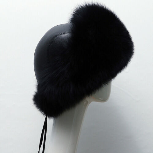 Hot Russian Womens Faux Fur Warm Ear Cap Winter Snow Ushanka Cossack Ski HatD634
