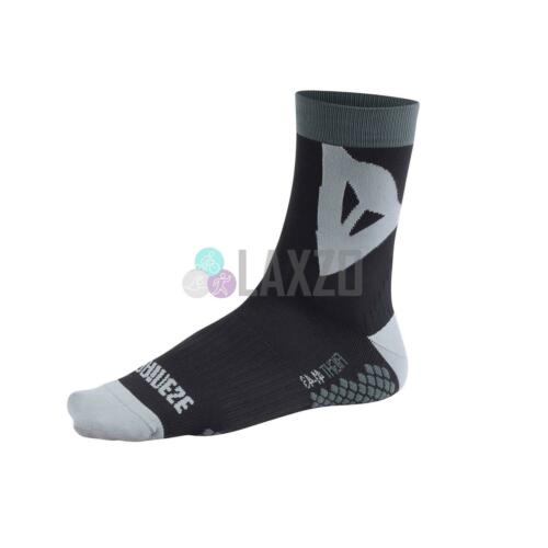 Unisex Riding Socks With Footbed Compression /& Ankle Support Black//Grey M