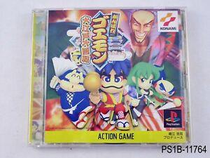 Ganbare-Goemon-Oedo-Daikaiten-Playstation-1-Japanese-Import-PS1-JP-US-Seller-B