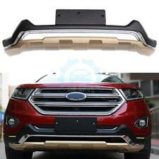 For Ford Edge   Front Bumper Protector Guard Skid Plate Abs Golden