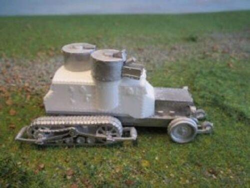 Friend or Foe GWBV8 1//72 Diecast WWI British Army Austin Putalov with Tracks