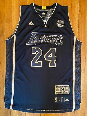 Kobe Bryant Snakeskin Swingman LA Lakers Adidas Jersey L Large 24 ...