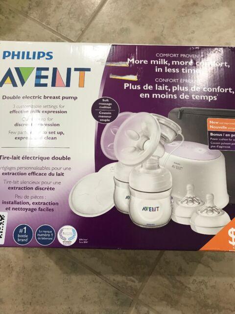 Bonus Power Cushion Philips Avent Double Electric Breast Pump