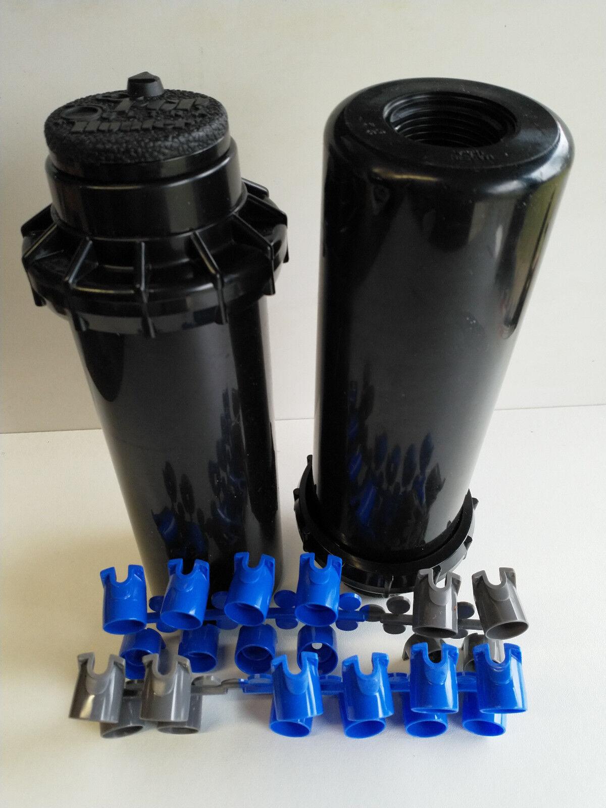 2 x Getrieberegner Versenkgetrieberegner 10cm Regner Sprenger Hunter PGP-04 3 4  | Roman  | Vorzügliche Verarbeitung  | Großer Verkauf