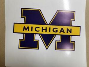 University of Michigan ncornhole board or vehicle decal(s) OS15