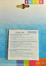 INTEX 6 Reparatur Flicken selbstklebend für PVC Pool Luftmatratze Luftbett Boot
