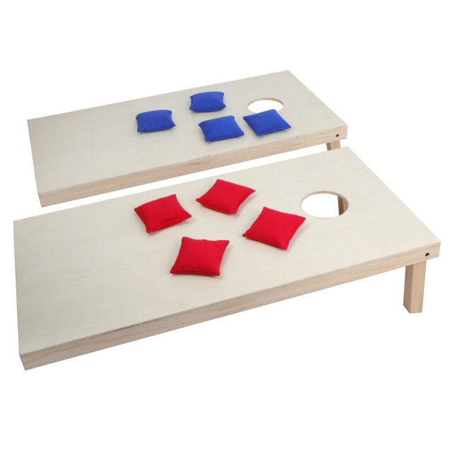 4 X 2 Foldable Wooden Bean Bag Toss Set Of Boards 8 Beanbags