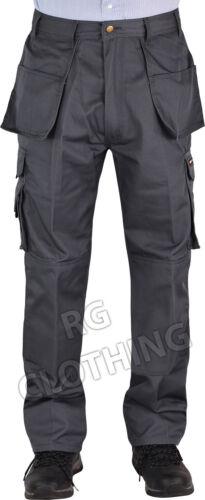 Uomo Qualità Tufo-Stuff Workwear Pantaloni da lavoro portatile//Da Combattimento 28-48 Gamba 30,32.5