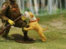 Hood Hounds Tips Tan Chihuahua Dog 1:18 GI Joe Size Cake Topper Figure K1285 S