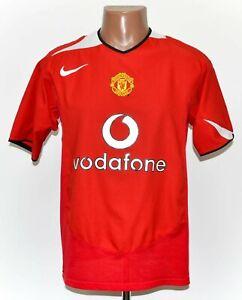 Manchester United 2004/2005/2006 Calcio Casa maglietta jersey Nike taglia M adulto