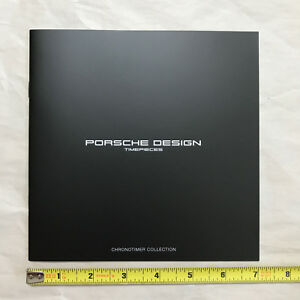 porsche design timepieces full lineup 20 page brochure new ebay