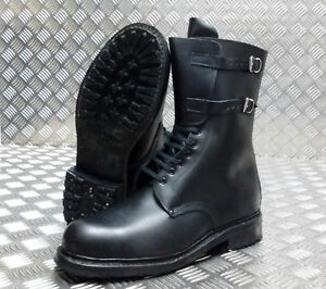 Genuine-Vintage-Italian-Military-Police-Issue-Hi-Leg-Combat-Assault-Boots-NEW