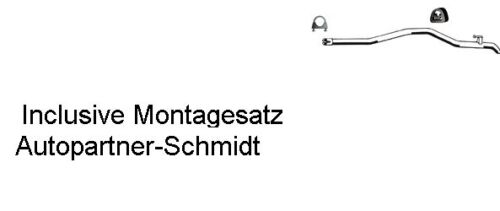 Auspuff Endrohr für Mercedes Sprinter 902 903 210 212 312 TD LT 28-35 TDi SWB