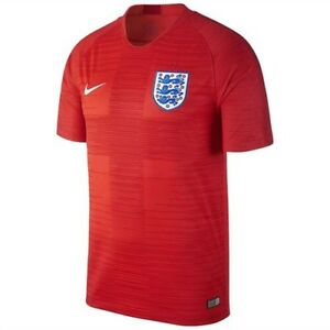 eb6fba1d NIKE 2018 ENGLAND AWAY WORLD CUP SOCCER JERSEY RED 893867 600 sz ...