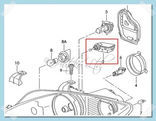 Lichter & Leuchten Frontscheinwerfer 1X Mercedes-Benz Citan ...