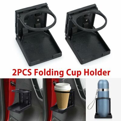 Universal Car VAN Folding Cup Holder Drink Holders for Vehicle Boat Marine RV