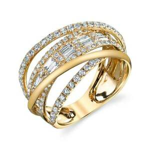 Infinity-Women-925-Silver-gold-Wedding-Rings-White-Sapphire-Ring-Size-6-10