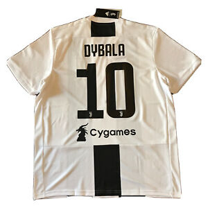 Details about 2018/19 Juventus Home Jersey #10 DYBALA XL Adidas Soccer Cygames NEW