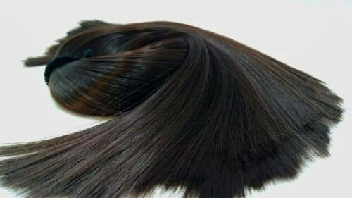 Hathaway Chocolate Brown Nylon Doll Hair Hank for Rerooting for Barbie®