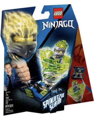LEGO 70682 NINJAGO SPINJITZU SLAM JAY FS BUILDING KIT 72 PCS NEW SEALED SPINNER