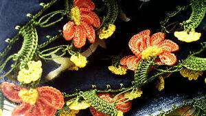 Turkish-Yemeni-Silk-Yazma-Black-Scarves-varies-Oya-Lace-needle-Embroidery