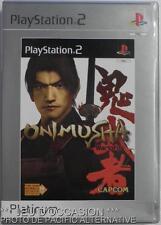 COMPLET Jeu platinum ONIMUSHA WARLORDS playstation 2 sony PS2 samanosuke combat