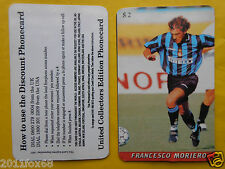 1997 phone cards $ 2 moriero inter carte schede telefoniche 1997 telefonkarten