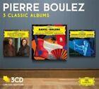 Pierre Boulez: 3 Classic Albums [Limited Edition] (CD, Jun-2014, Deutsche Grammophon)