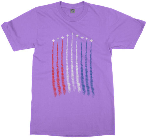 Red White Blue Air Force Flyover Youth T-Shirt US Military Family