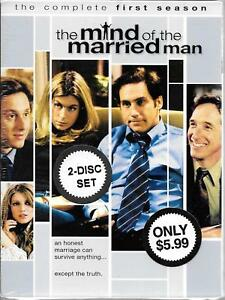 HBO Video, the Mind of the Married Man, Complete First Season, 2001 NEW DVD