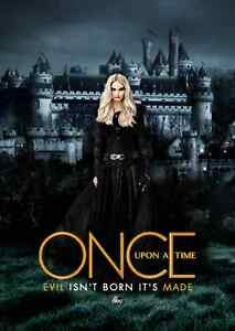 Details about POSTER ONCE UPON A TIME C'ERA UNA VOLTA EMMA SWAN DARK TV  SERIES QUEEN QUEEN #5