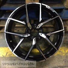 18 Y Spoke Amg Style Black Wheels Rims Fits Mercedes Benz E320 E500