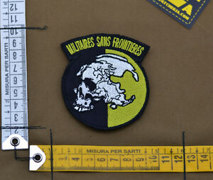 Ricamata-Embroidered-Patch-Metal-Gear-034-Militaires-034-with-VELCRO-brand-hook