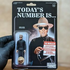 David Lynch - Today's Number is - Readful Things - Action Figure