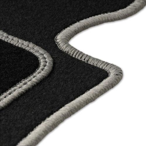 Fußmatten Auto Autoteppich passend für VW Up 2011-2018 Velours Set CACZA0104