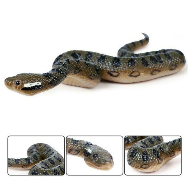 Fake Realistic Rubber Toy King Cobra Snake 3 Inch Props Scary Gag Halloween For Sale Online Ebay
