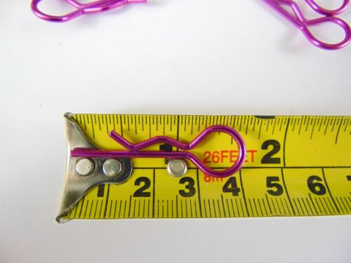 1//8th Scale Rc Body Pins losi 1//5th hb xray clips x 24 Purple kyosho