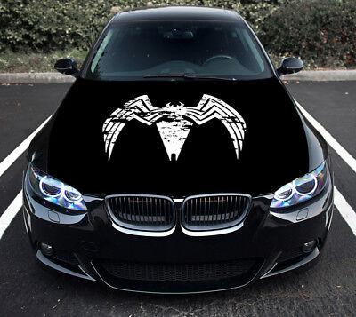 Vinyl Car Hood Graphics Decal Venom Comics Full Color