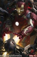Iron Man Avengers 2 Age Of Ultron 2014 Comic-con Sdcc Promo Marvel Movie Poster