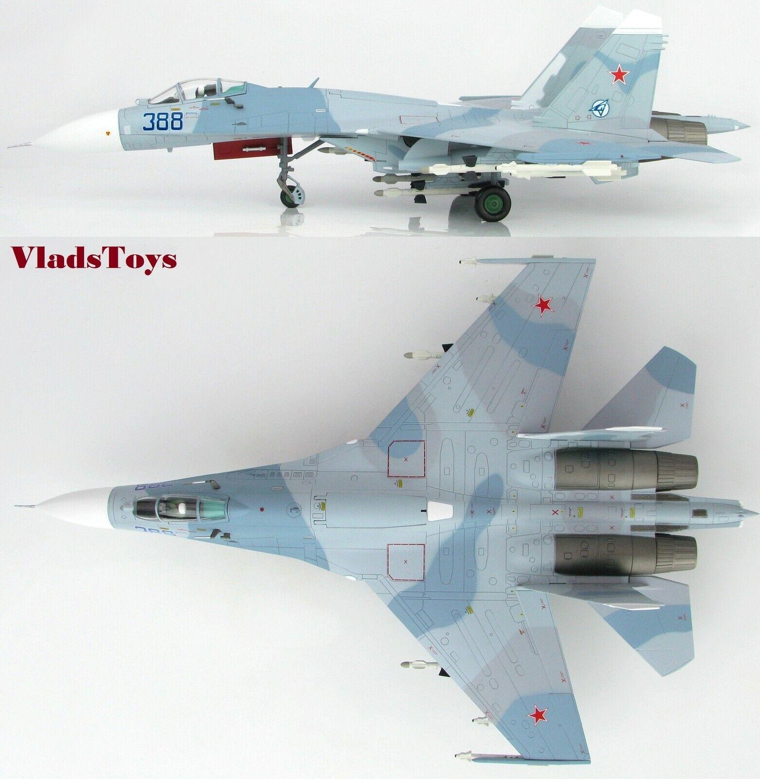 Hobby Master 1 72 Sukhoi Su-27 Flanker-B Russan Af Bleu 388 Paris Airshow HA6003