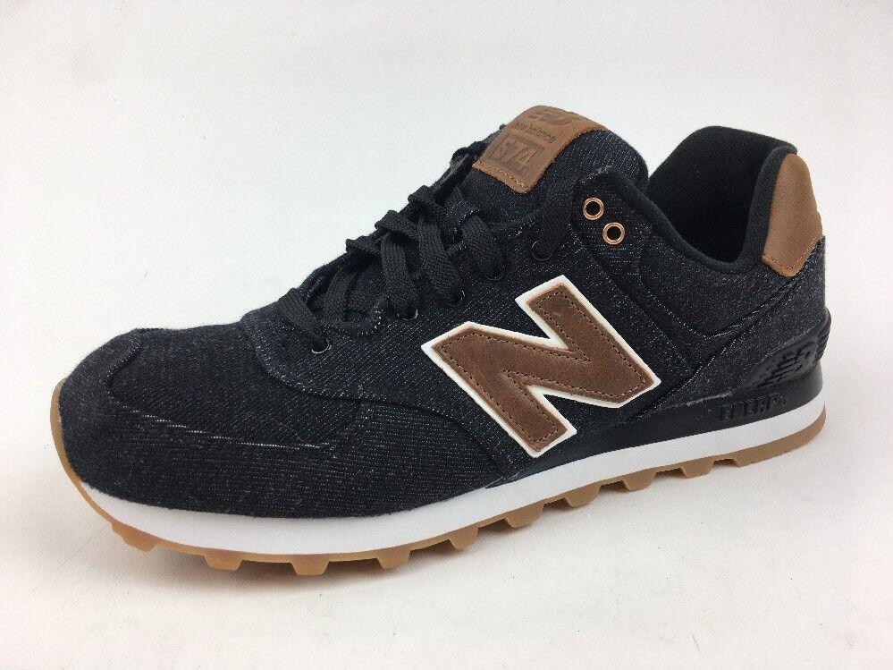 New Balance ML574TXA Men's Size 8.5D Athletic Sneakers, Black 295